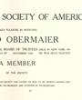 Mitglied der »Hispanic Society of America«, New York, USA. (51,4 cm x 39,0 cm)