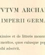 Ordentliches Mitglied des »Deutschen Archäologischen Instituts«, Berlin, Deutschland. (23,0 cm x 31,1 cm)