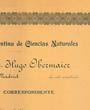 Korrespondierendes Mitglied der Academia de la Sociedad Argentina de Ciencias Naturales«, Buenos Aires, Argentinien. (65,3 cm x 50,1 cm)
