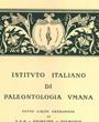Korrespondierendes Mitglied des »Istituto Italiano di Paleontologia Umana«, Firenze, Italien. (47,0 cm x 59,7 cm)