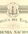 Korrespondierendes Mitglied »Academia Nacional de Historia« der Republik Ecuador, Quito, Ecuador. (25,1 cm x 39,3 cm)