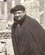 Recto: Hugo Obermaier in Djemila (Algerien).Verso: Algerien (Djemila). Photo: Prof. Unverzagt/Berlin. Verbleib: Archiv der Hugo Obermaier-Gesellschaft, Erlangen.