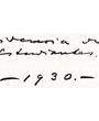 Verso: Residencia de Estudiantes. Madrid 1930. – 1930 –  Verbleib: Archiv der Hugo Obermaier-Gesellschaft, Erlangen.
