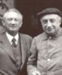 Recto: Hugo Obermaier und Henri Breuil in Abbeville am 18. August 1939 Verbleib: Archiv der Hugo Obermaier-Gesellschaft, Erlangen.