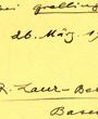 Verbleib: Archiv der Hugo Obermaier-Gesellschaft, Erlangen.